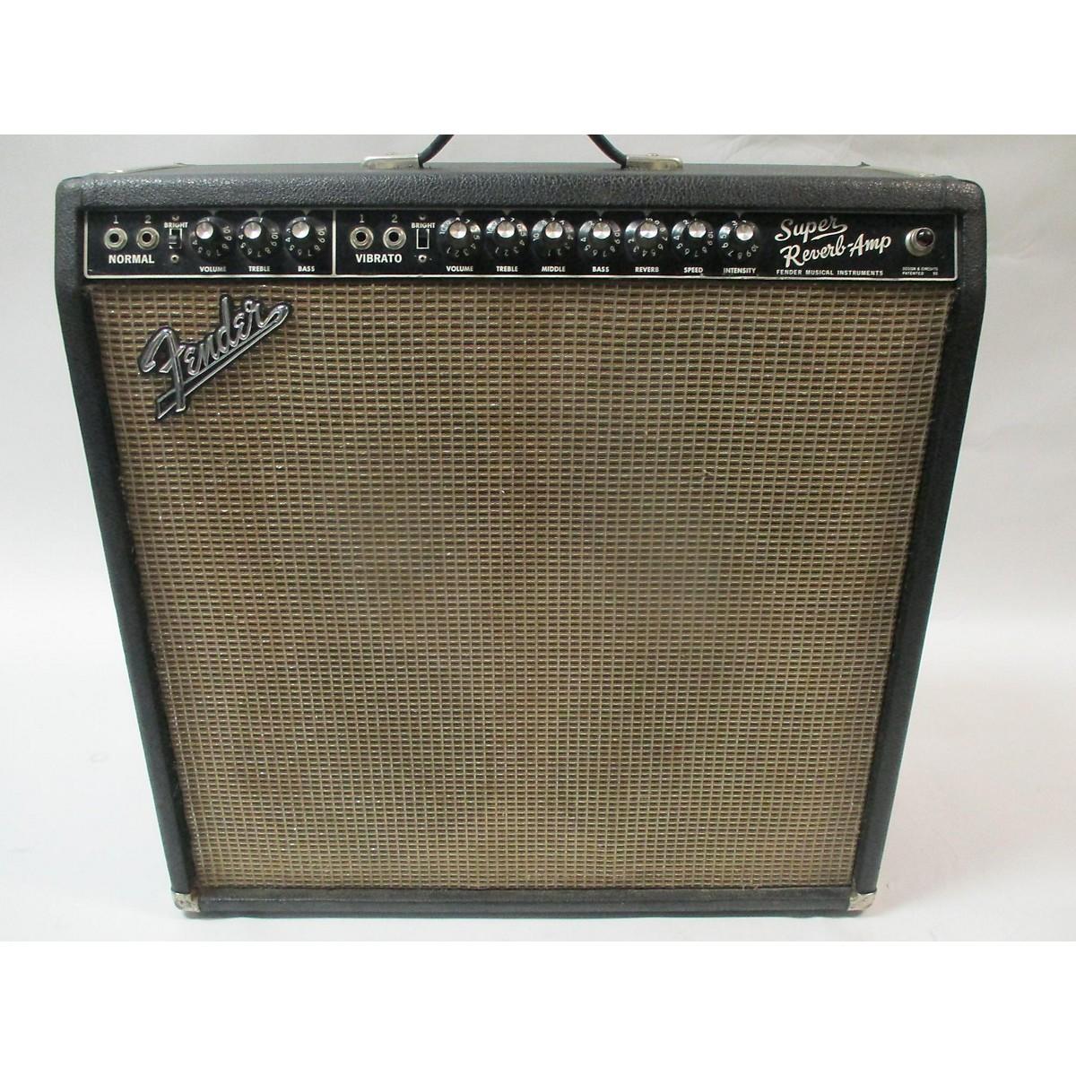 Fender 1965 1965 Super Reverb Amp Guitar Power Amp