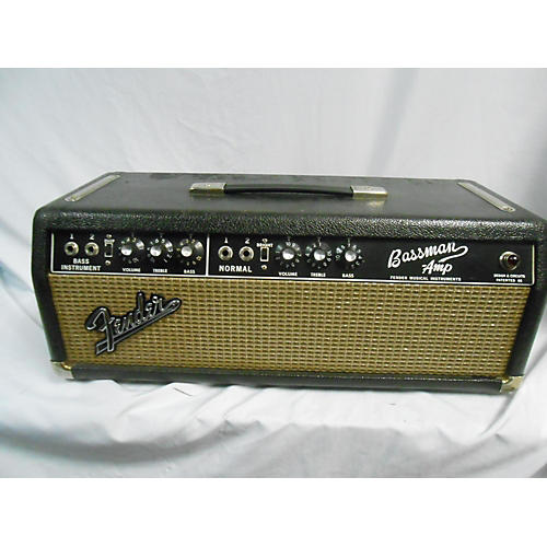 Fender 1965 Bassman Head Tube Guitar Amp Head