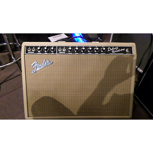 Fender 1965 Deluxe Reverb 22W FSR BLONDE Blonde Tube Guitar Combo Amp