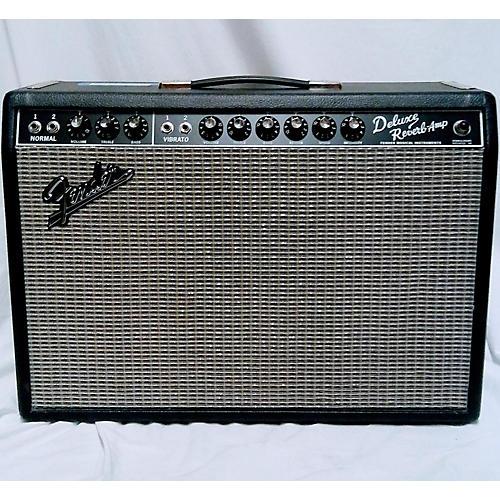 used fender 1965 deluxe reverb 22w tube guitar amp head guitar center. Black Bedroom Furniture Sets. Home Design Ideas