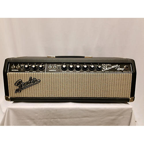 Fender 1965 Dual Showman Tube Bass Amp Head