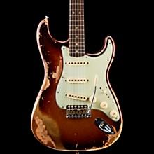 1965 Heavy Relic Stratocaster Electric Guitar Super Faded Aged Three Tone Burst