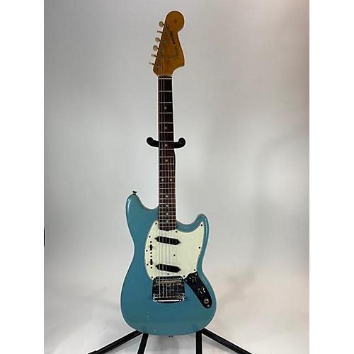 vintage fender 1965 mustang solid body electric guitar blue guitar center. Black Bedroom Furniture Sets. Home Design Ideas