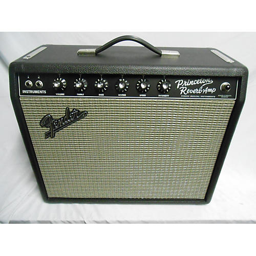 used fender 1965 princeton reverb 15w 1x10 tube guitar combo amp guitar center. Black Bedroom Furniture Sets. Home Design Ideas