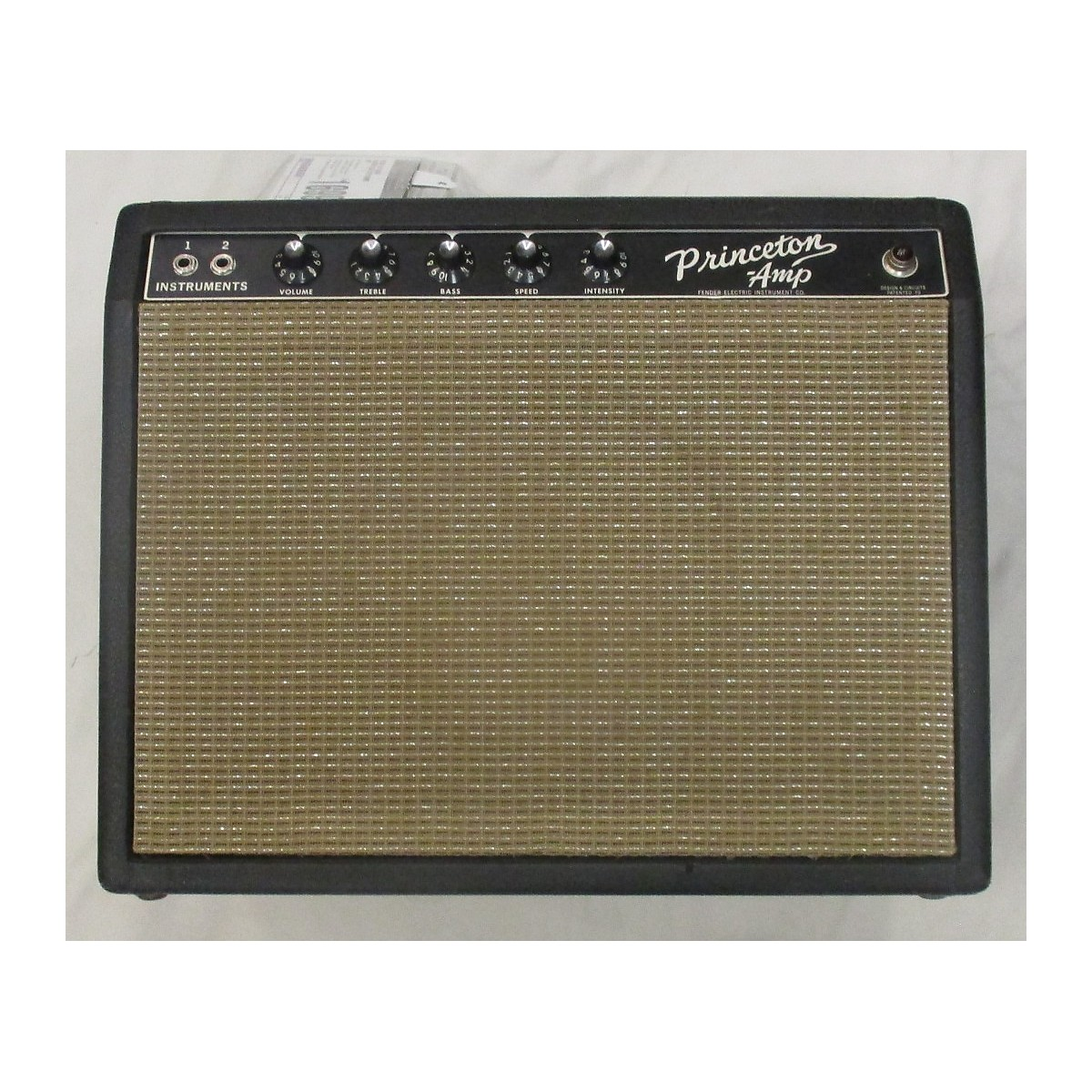 Fender 1965 Princeton Tube Guitar Combo Amp