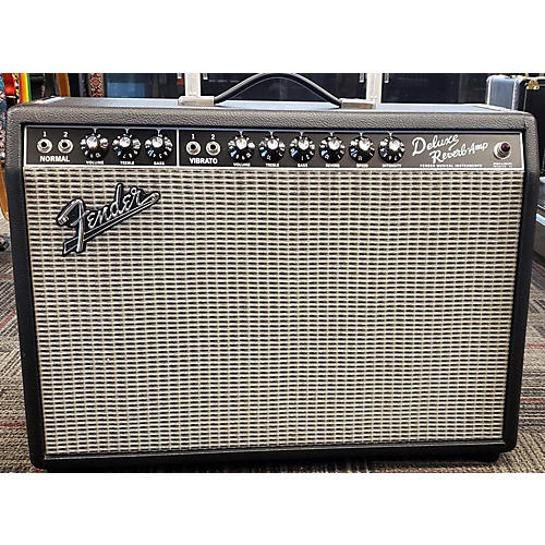 used fender 1965 reissue deluxe reverb 22w tube guitar amp head guitar center. Black Bedroom Furniture Sets. Home Design Ideas