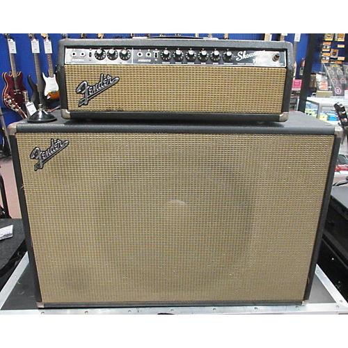 Fender 1965 Showman 15 Amp And Cab Tube Guitar Amp Head