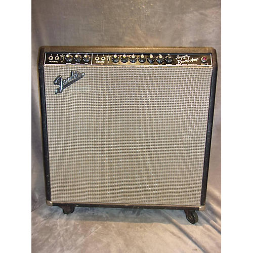 Fender 1965 Super Reverb 4x10 Tube Guitar Combo Amp
