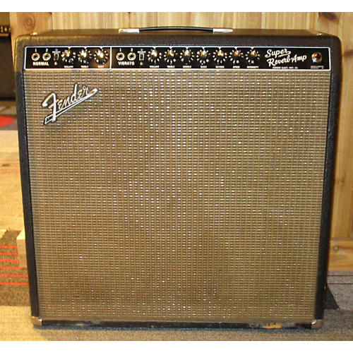 Fender 1965 Super Reverb 4x10 Tube Guitar Combo Amp