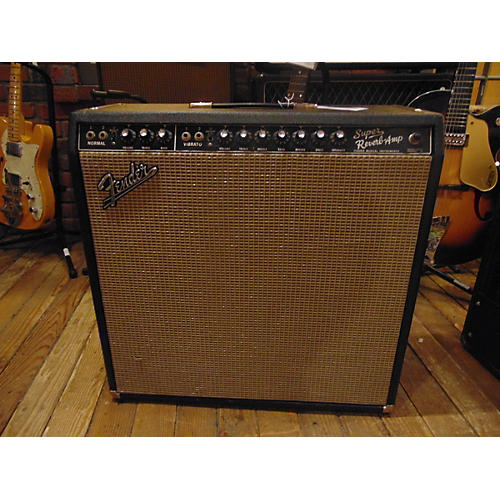 Fender 1965 Super Reverb Tube Guitar Combo Amp