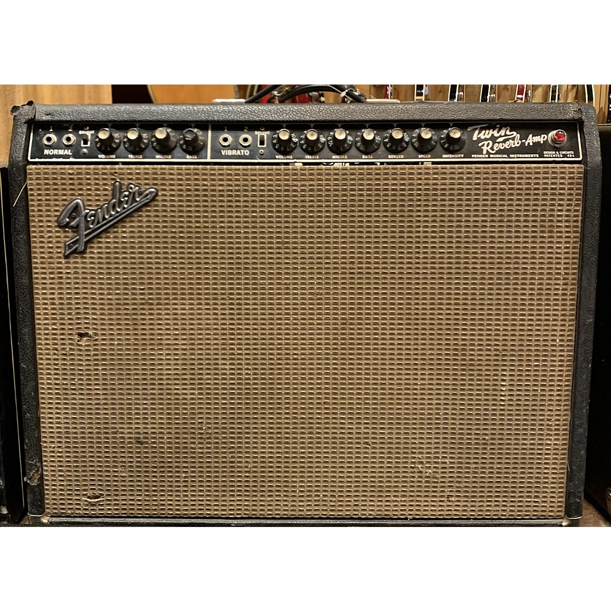 Fender 1965 Twin Reverb 2x12 Tube Guitar Combo Amp