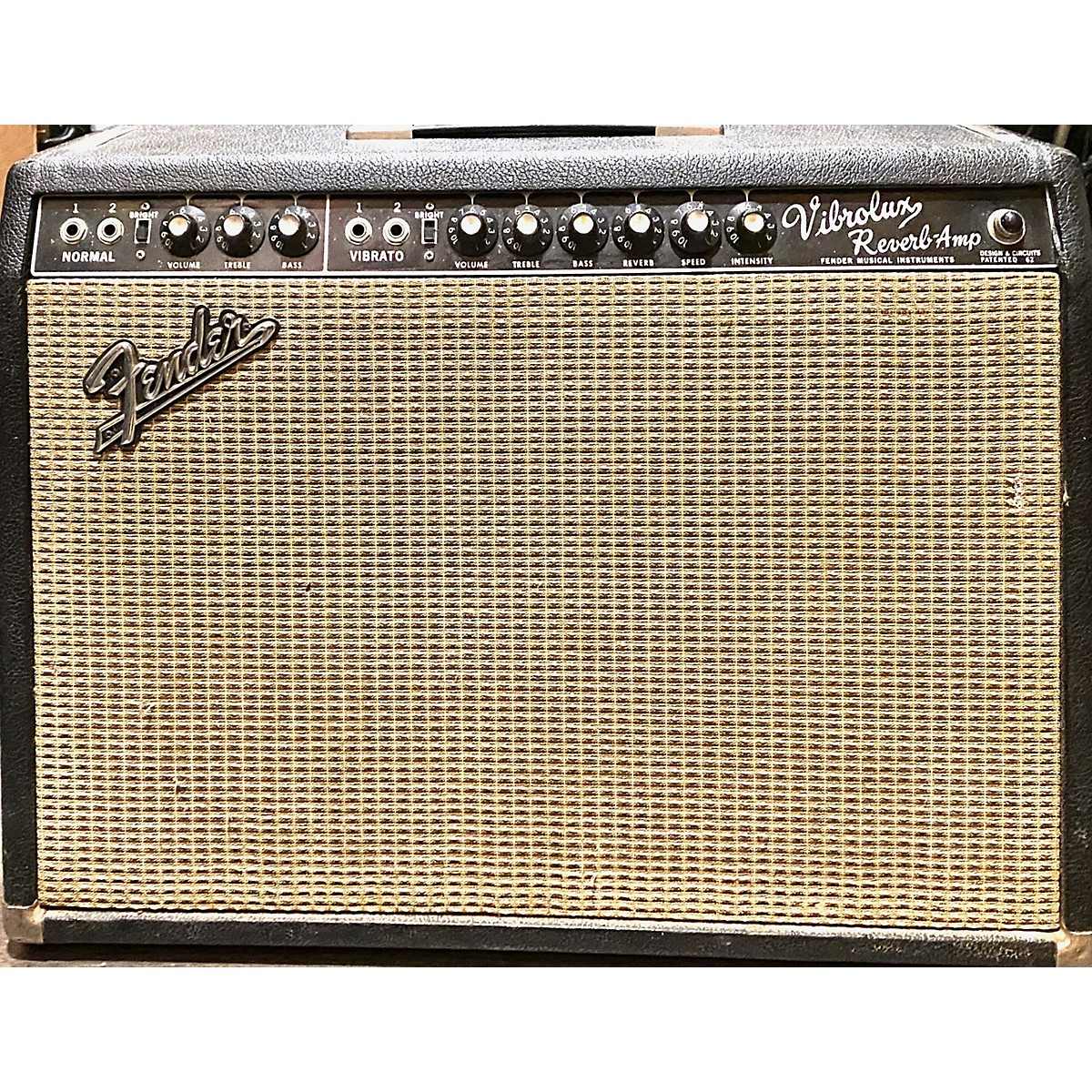 Fender 1965 Vibrolux Reverb 40W 2x10 Tube Guitar Combo Amp