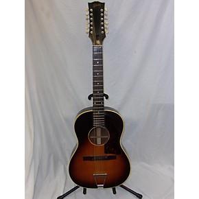 vintage gibson 1966 b 12 25 12 string acoustic guitar sunburst guitar center. Black Bedroom Furniture Sets. Home Design Ideas