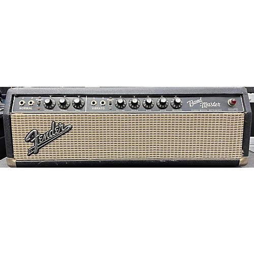 Fender 1966 Band Master Head And Cab Tube Guitar Combo Amp