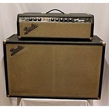 Fender 1966 Bandmaster Head And Cab Tube Guitar Amp Head