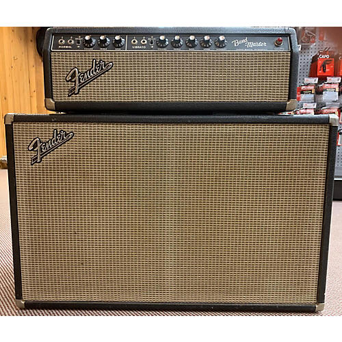 Fender 1966 Bandmaster Head And Cab Tube Guitar Combo Amp