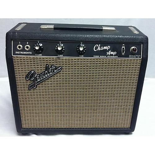 Fender 1966 Champ Amp Tube Guitar Combo Amp