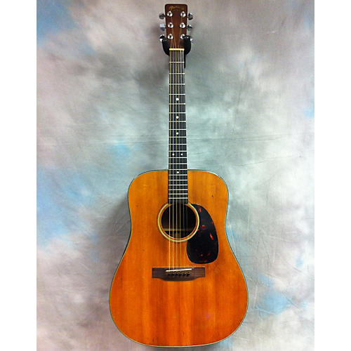 vintage martin 1966 d18 acoustic guitar natural guitar center. Black Bedroom Furniture Sets. Home Design Ideas