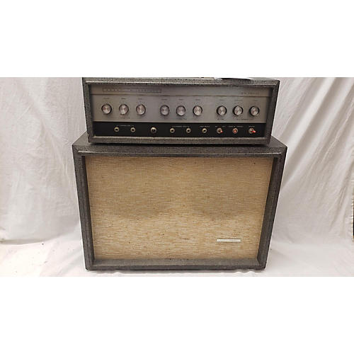 Silvertone 1966 Model 1484 Twin Twelve W/ Cab Tube Guitar Amp Head