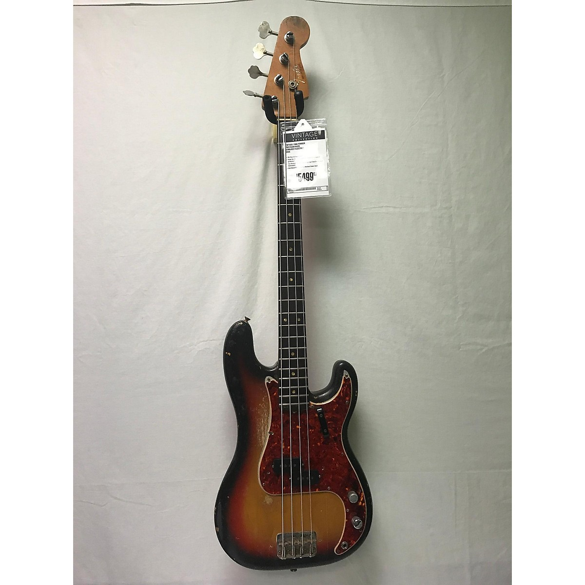 Fender 1966 PRECISION BASS Electric Bass Guitar