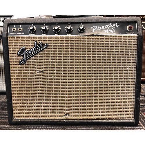 Fender 1966 Princeton Reverb Tube Guitar Combo Amp