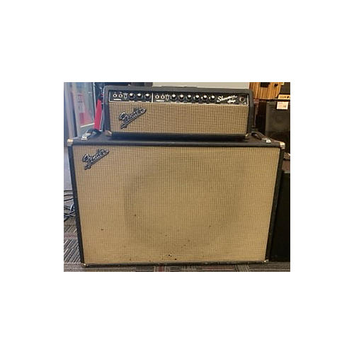 Fender 1966 Showman Amp And Cab Tube Guitar Amp Head