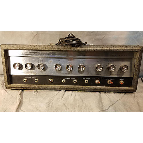 Silvertone 1967 1484 Twin Twelve Tube Guitar Combo Amp