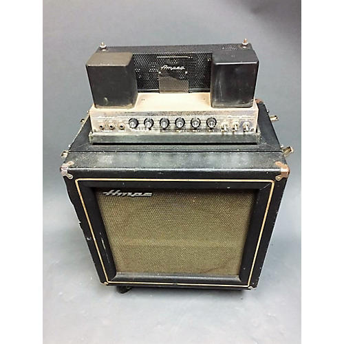 Ampeg 1967 1967 B-15-n Portaflex Black Tolex Gold Trim Tube Bass Combo Amp