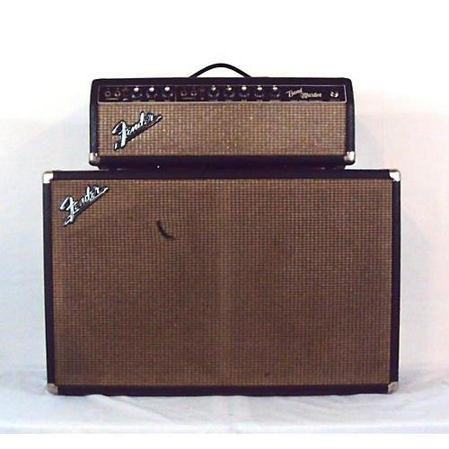 Fender 1967 Bandmaster W/Cab Tube Guitar Combo Amp