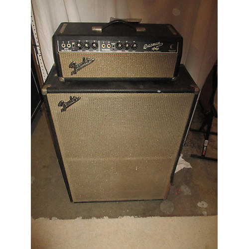 Fender 1967 Bassman 50 Watt Head And 2x12 Cab Tube Bass Amp Head