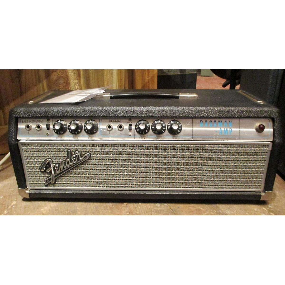 Fender 1967 Bassman Head Tube Guitar Amp Head