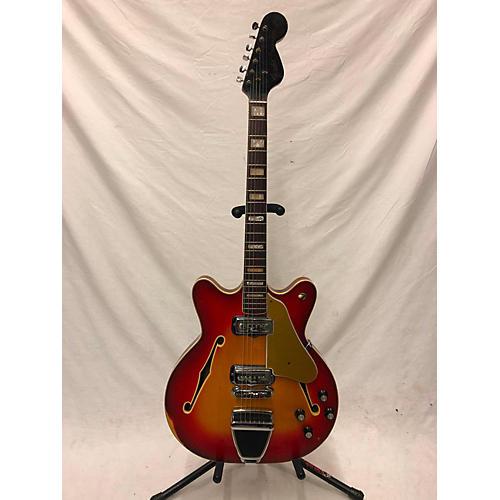 vintage fender 1967 coronado ii hollow body electric guitar sunburst guitar center. Black Bedroom Furniture Sets. Home Design Ideas