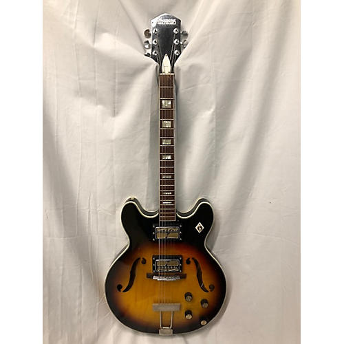 HARMONY 1967 Meteor H60 Hollow Body Electric Guitar
