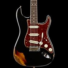 1967 Relic Stratocaster  - Custom Built - Namm Limited Edition Aged Black over 3-Color Sunburst