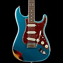 1967 Relic Stratocaster  - Custom Built - Namm Limited Edition Ocean Turquoise over 3-Color Sunburst