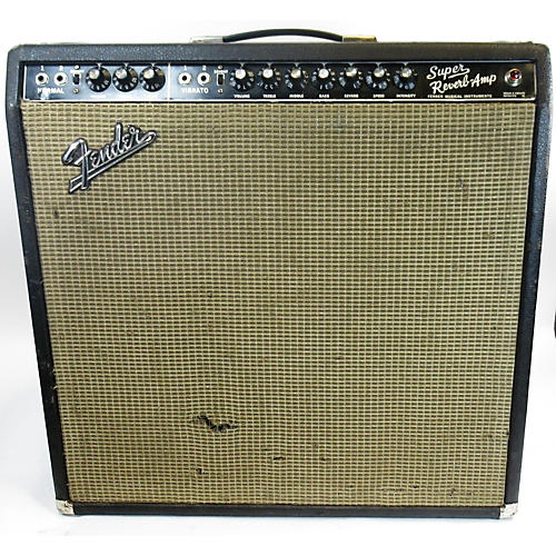 Fender 1967 Super Reverb 4x10 Tube Guitar Combo Amp