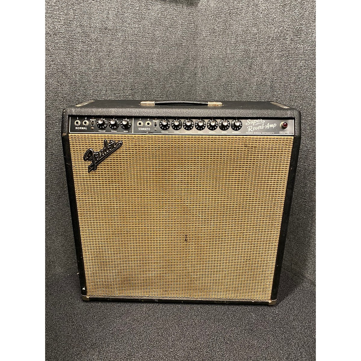Fender 1967 Super Reverb 4x10 Tube Guitar Combo Amp