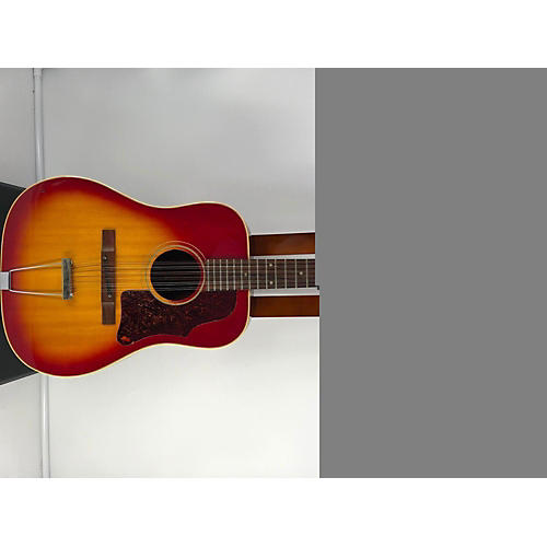 vintage gibson 1968 b 45 12 12 string acoustic guitar cherry burst guitar center. Black Bedroom Furniture Sets. Home Design Ideas