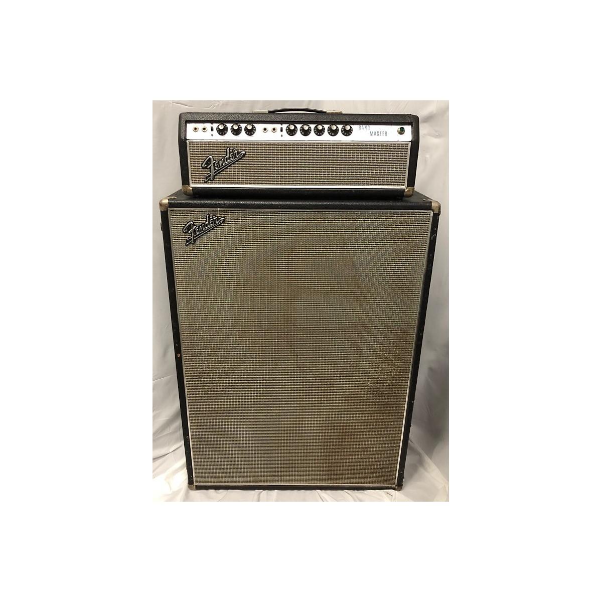 Fender 1968 Bandmaster Head & Cab Tube Guitar Amp Head
