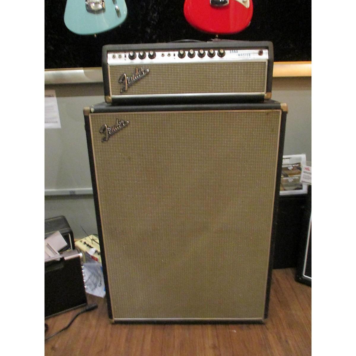 Fender 1968 Bandmaster W/ Cabinet Tube Guitar Combo Amp