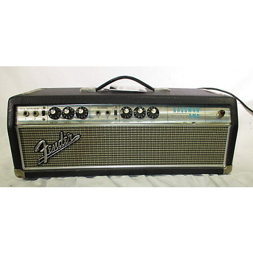 Fender 1968 Bass Man Tube Bass Amp Head