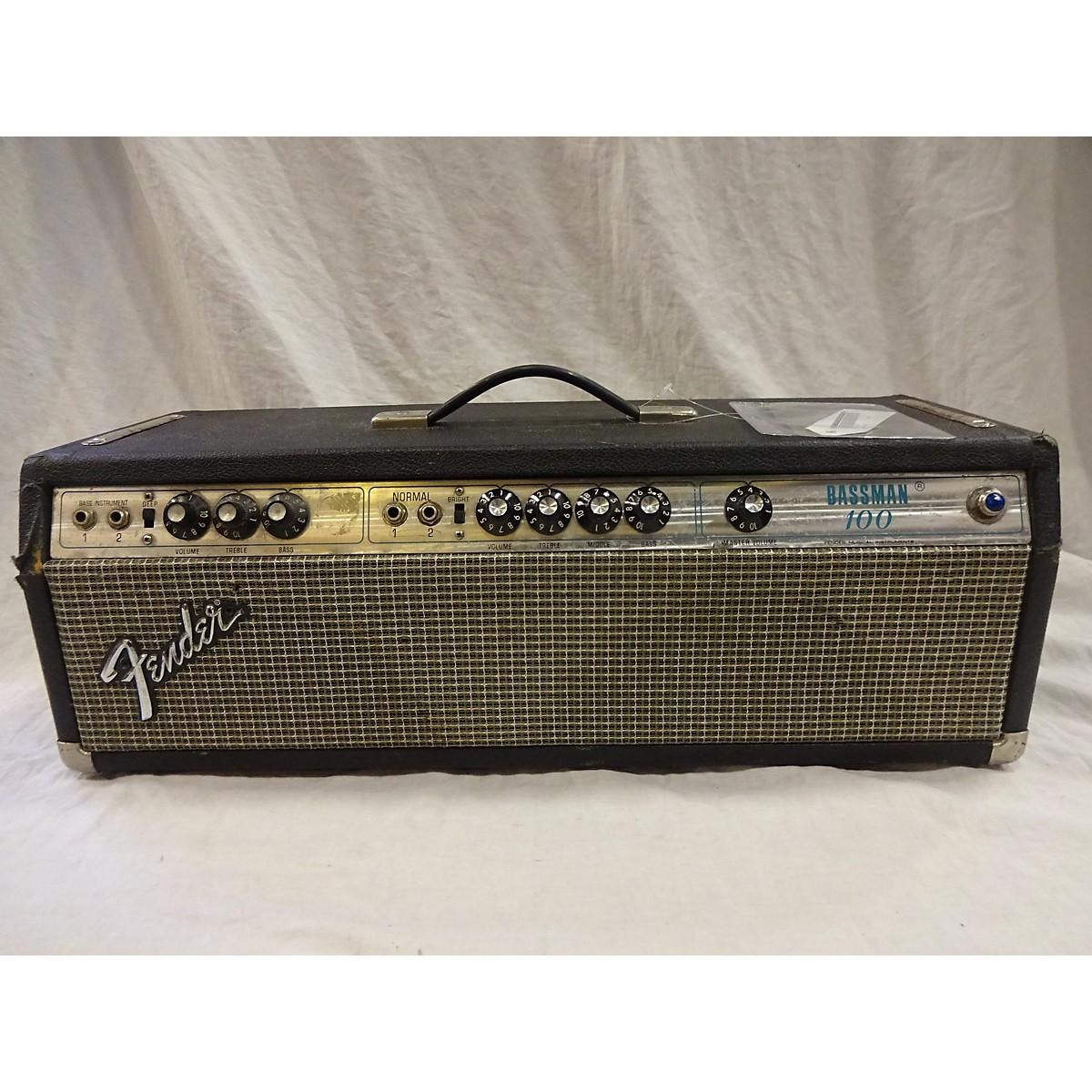 Fender 1968 Bassman 100 Bass Combo Amp