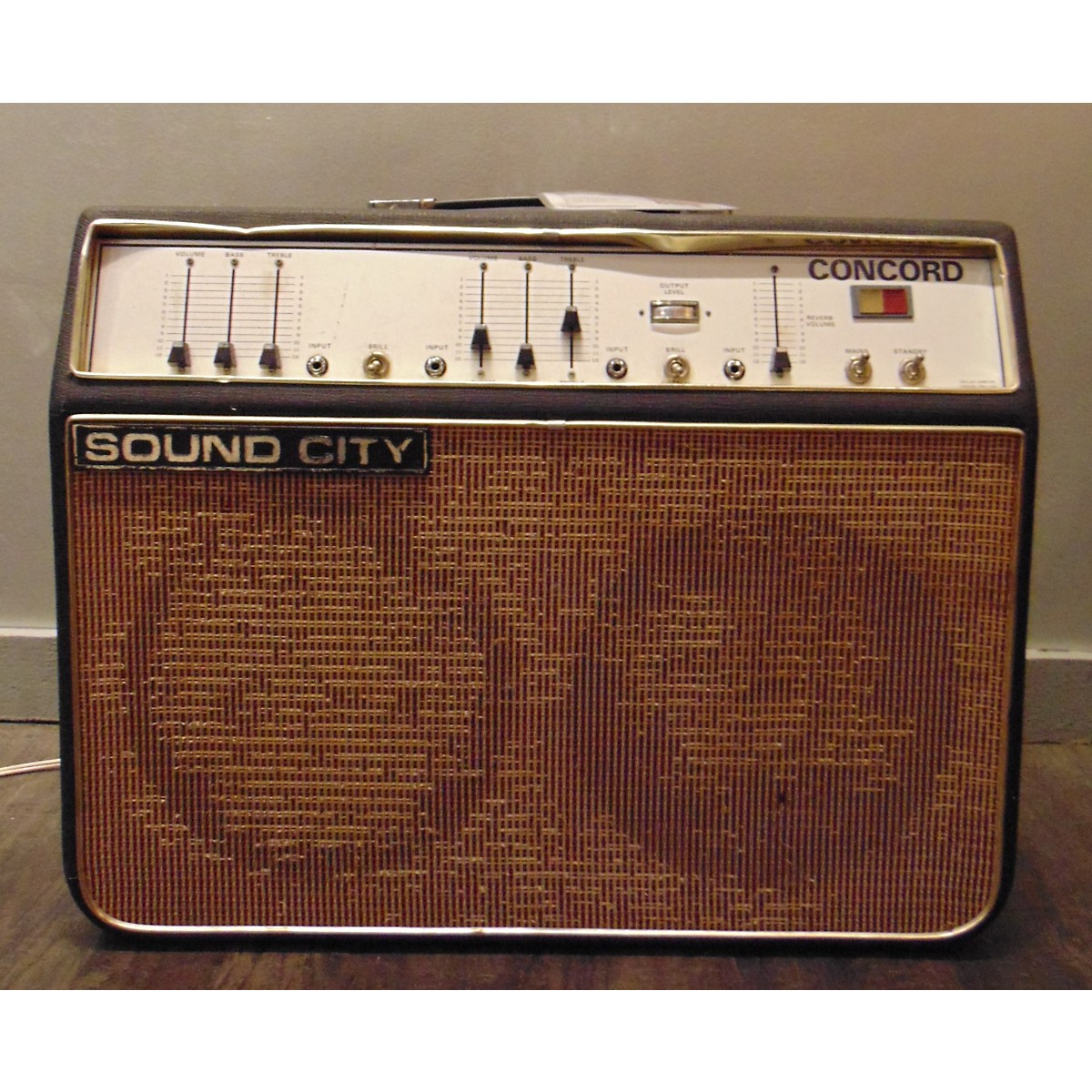 Sound City 1968 Concord Tube Guitar Combo Amp