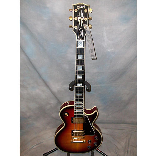 Gibson 1968 Reissue Les Paul Custom Solid Body Electric Guitar