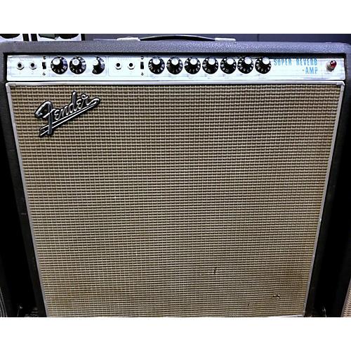 Fender 1968 Super Reverb 45W 4x10 Tube Guitar Combo Amp