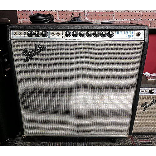 Fender 1968 Super Reverb 4x10 Tube Guitar Combo Amp