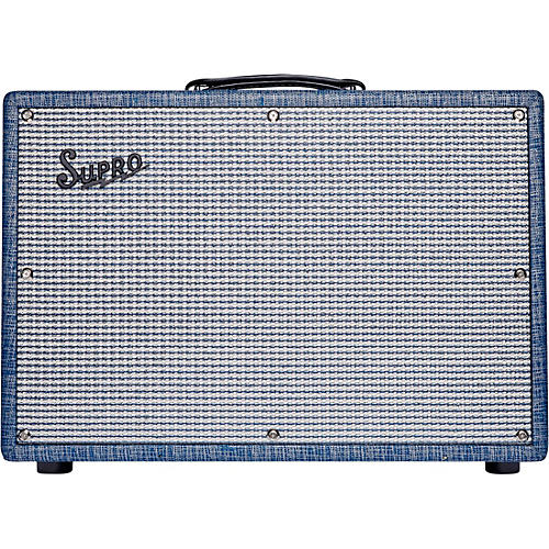 Supro 1968RK Keeley 12 25W 1x12 Tube Guitar Combo Amp