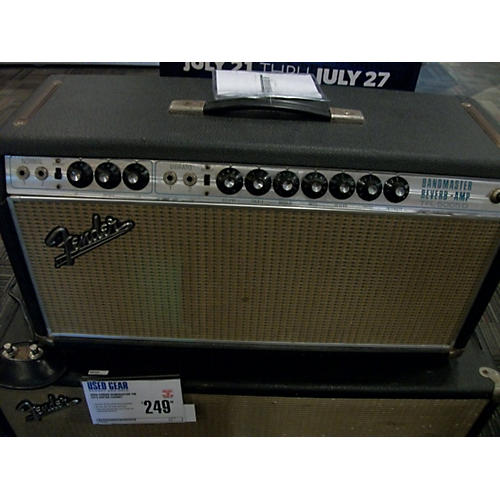 vintage fender 1969 bandmaster head tube guitar amp head guitar center. Black Bedroom Furniture Sets. Home Design Ideas