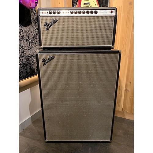 Fender 1969 Bandmaster Reverb W/cab Tube Guitar Amp Head