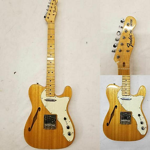 Fender 1969 Fender Telecaster Thinline I Natural Mahogany Hollow Body Electric Guitar